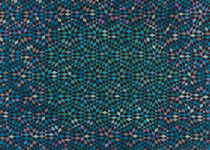 DIAMOND MEDALLION BLUE GREEN