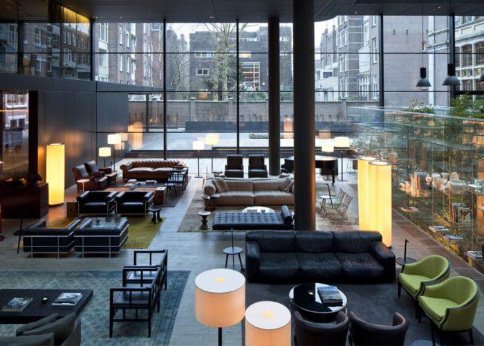 CONSERVATORIUM HOTEL, Amsterdam by Piero Lissoni